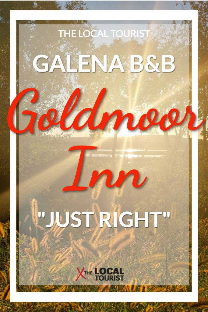 Goldmoor Inn Bed & Breakfast in Galena, Illinois, is an elegant getaway located on the Mississippi River.