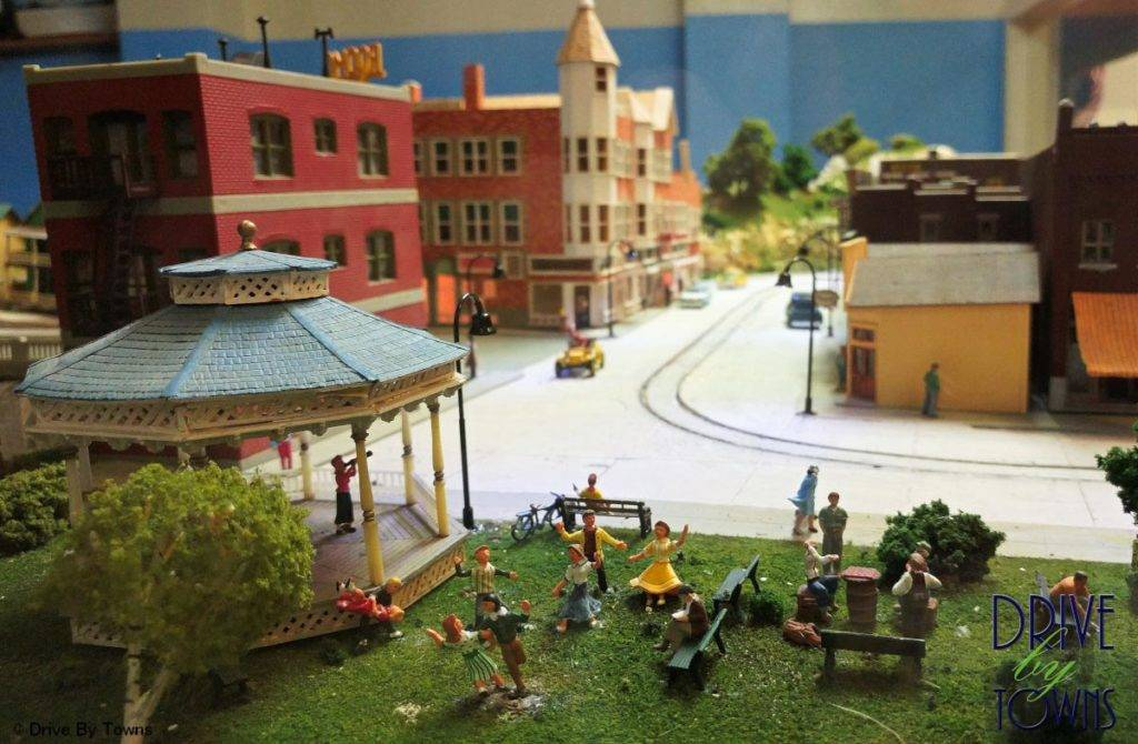 Model Railroad at Floyd County Historical Museum