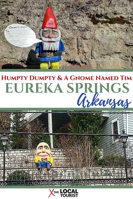 Eureka Springs, Arkansas, is a charming town with no right angles. It's so charming the entire town is on the National Register of Historic Places! #USA #EurekaSprings #historicplaces