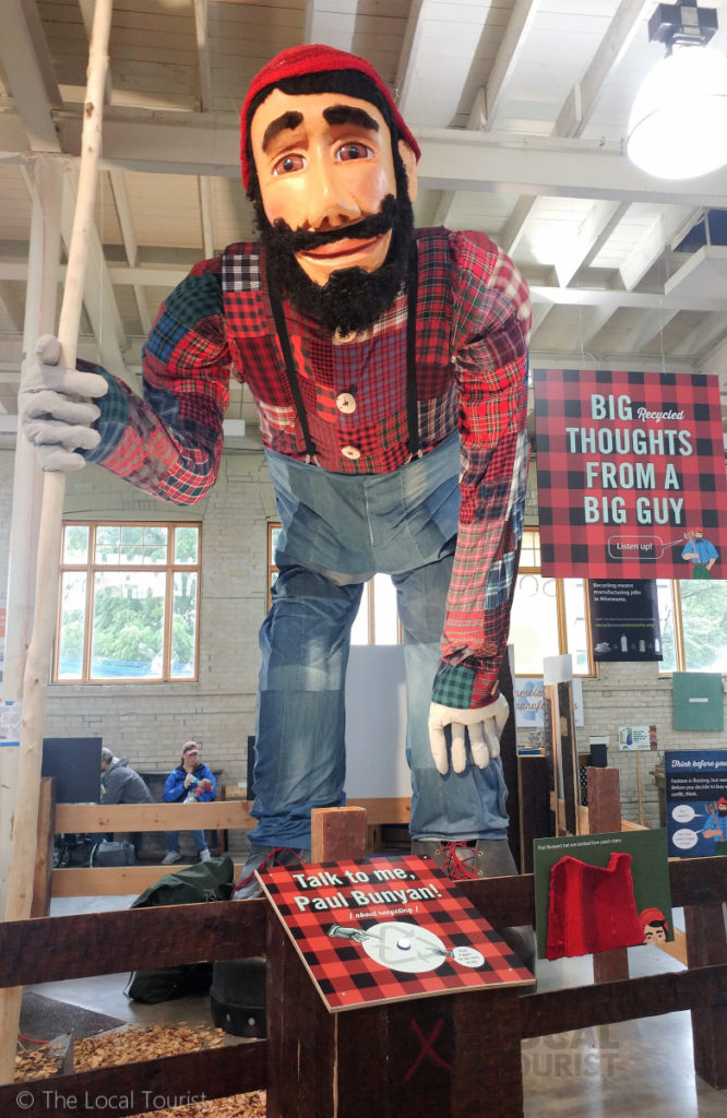 Lumberjack at Minnesota State Fair