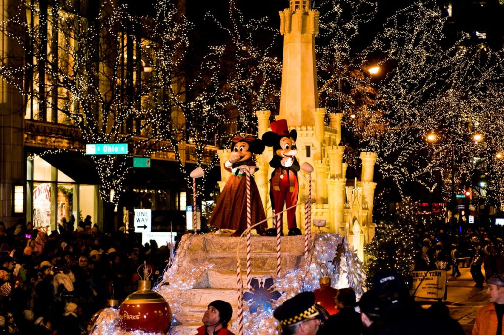 Magnificent Mile Lights Festival in Chicago