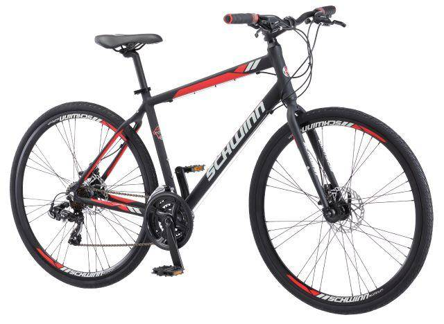Schwinn Circuit Hybrid Men's Bike in Red