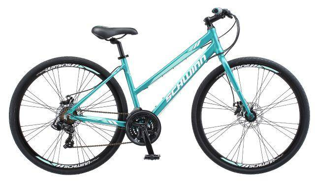 Schwinn Circuit Hybrid Women's Bike in Teal
