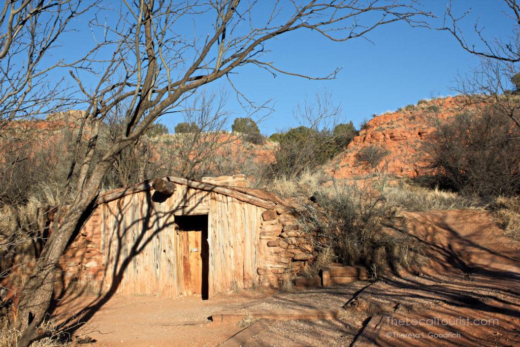 Cowboy Dugout at Palo Duro Canyon