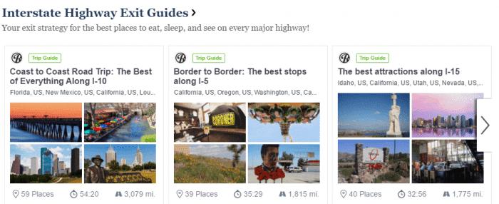 Roadtrippers Trip Guides
