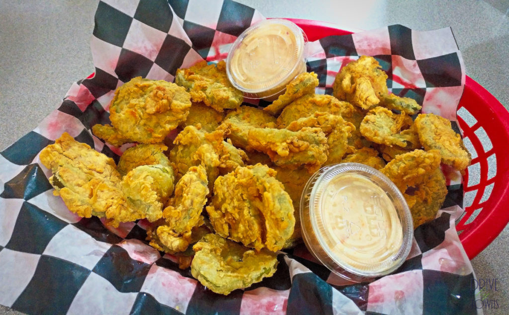 Fried Pickles at Homeplate Bar & Grill