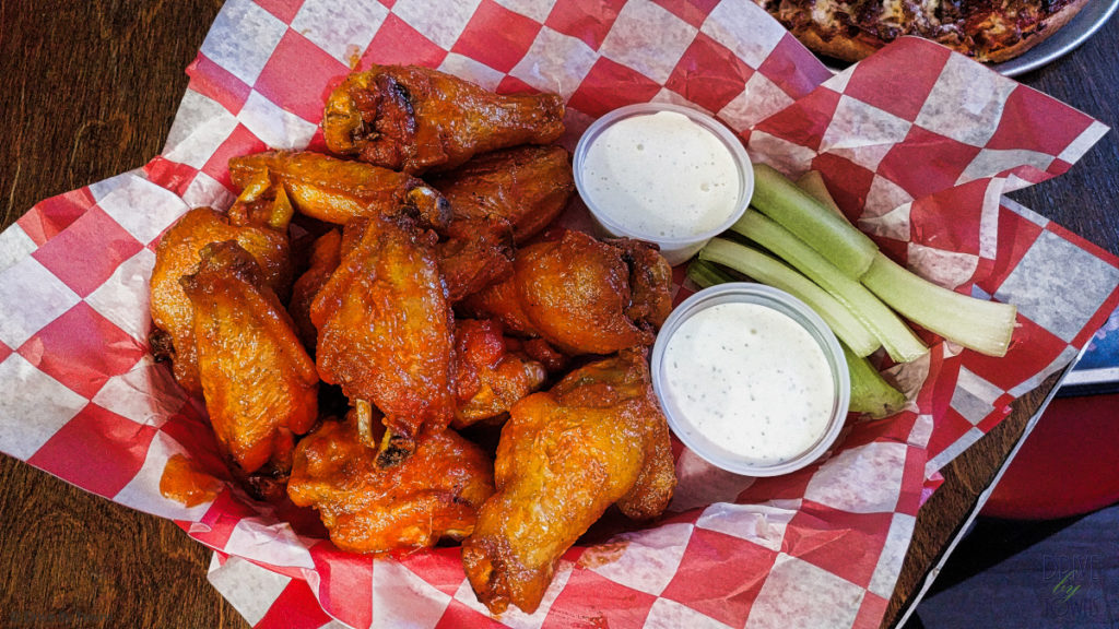 Hot wings from Roadhouse Bar & Grill