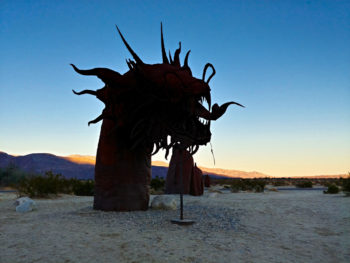 Borrego Springs Serpent Sculpture by Ricardo Breceda