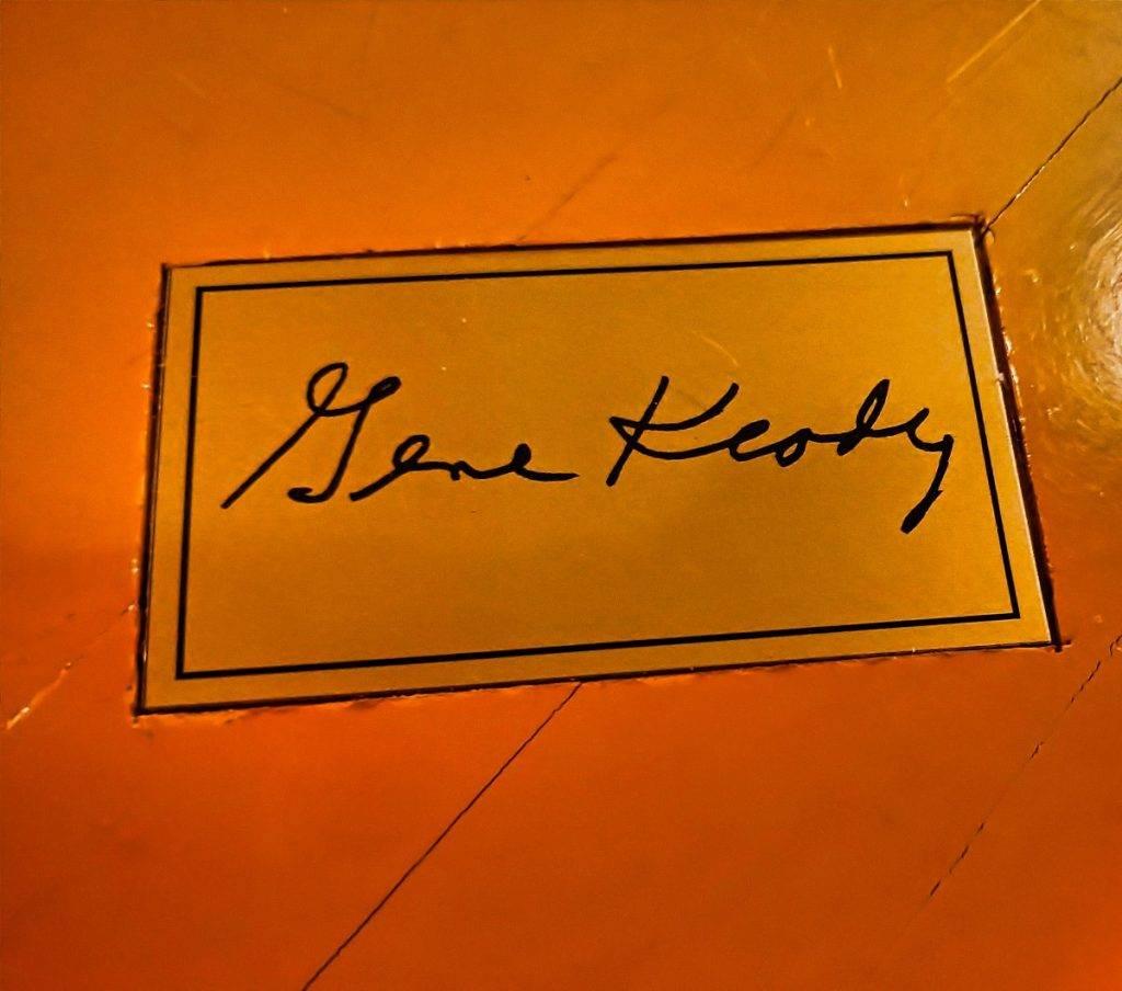 Big O's Sports Room - Gene Keady signature