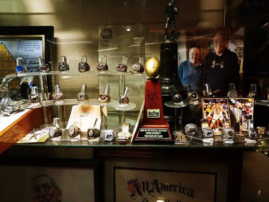 MORE memorabilia showcased in Big O's Sports Room