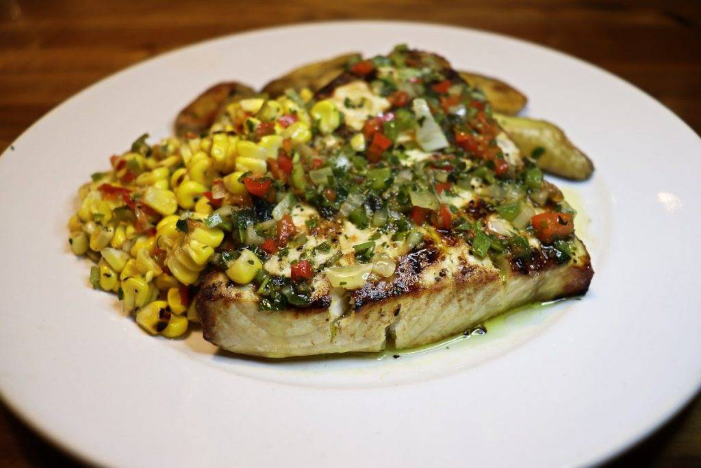 Grilled Swordfish at East End Grill