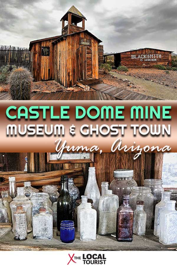 Castle Dome Mines Museum & Ghost Town takes you back to the longest-running mines in Arizona. #USA