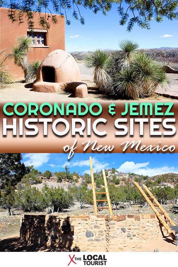 The past is always present at Coronado and Jemez Historic Sites in New Mexico. #NewMexico #USA