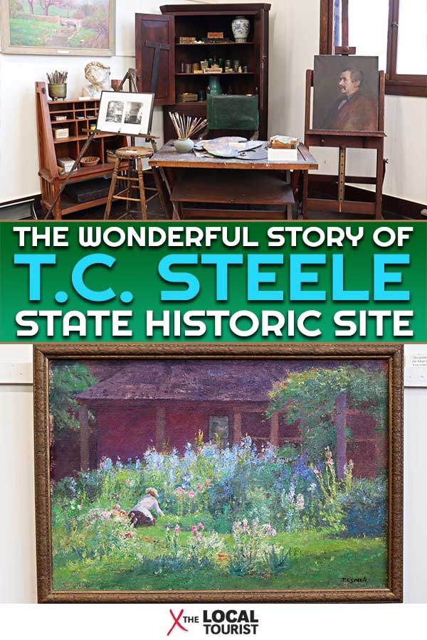 Enter the world of Indiana's most influential artist with a visit to the T.C. Steele State Historic Site in Brown County. | American Impressionism | Things to do in Brown County | Midwest Travel