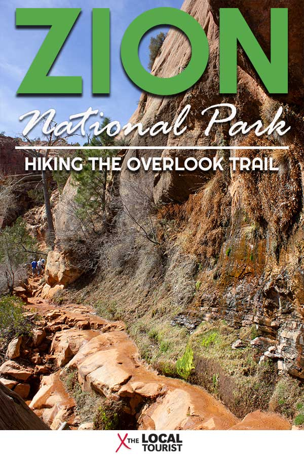 If you've got limited time in Zion National Park, don't miss the Overlook Trail. It's a relatively easy hike up to one of the most gorgeous views you'll ever see. | #nationalparks #usnationalparks #zionnationalpark #hiking #outdoors #utah #canyoncountry