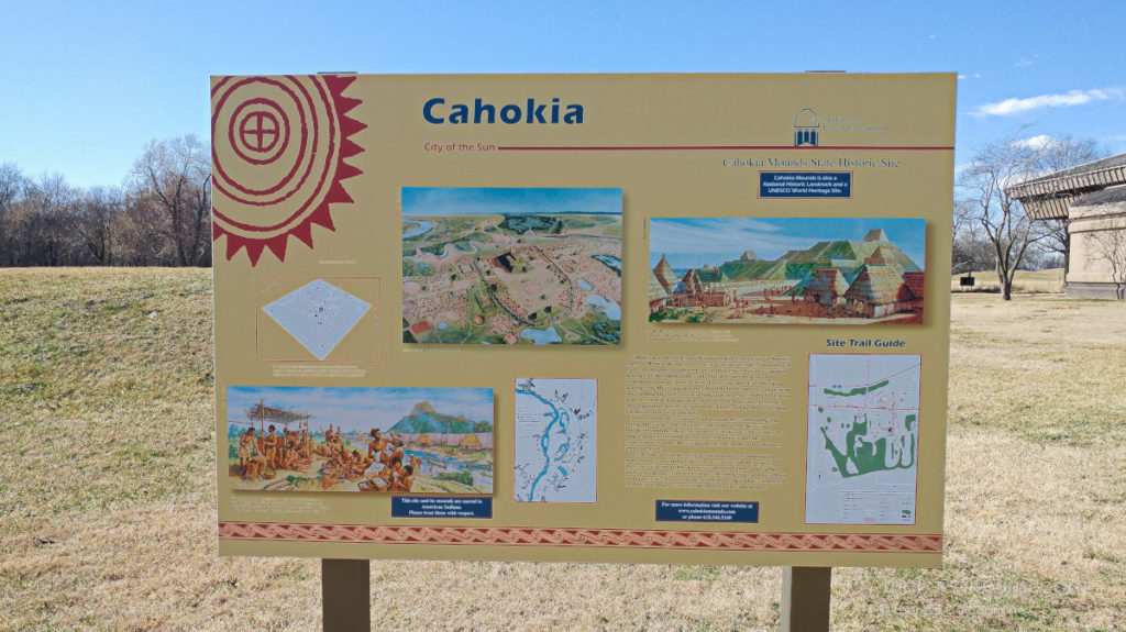 Cahokia Mounds State Historic Site is one of 23 UNESCO World Heritage Sites