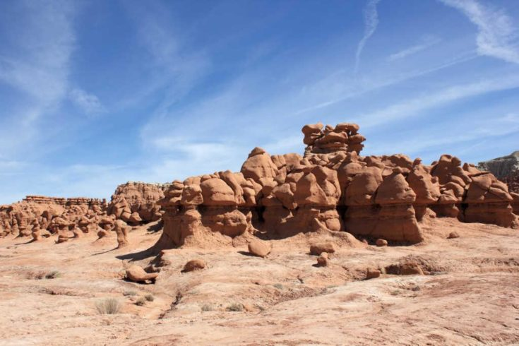 From Capitol Reef to Moab through a land filled with Goblins