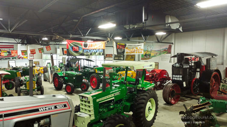 Tractors at Floyd County Historical Museum