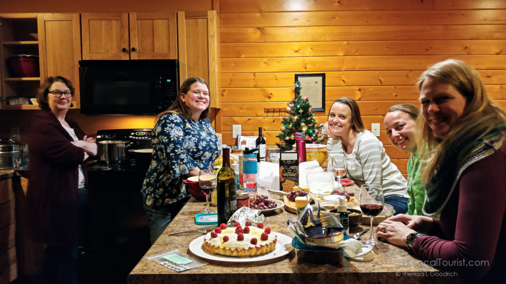 Travel writers at the Girls Glamping Getaway in Charles City, Iowa