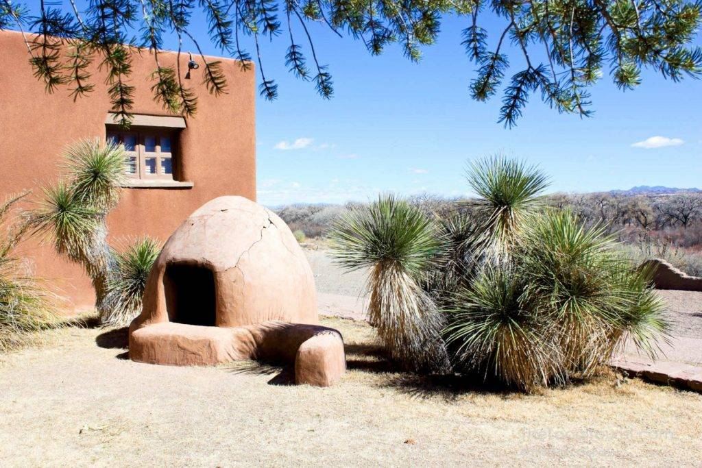 Traditional Horno at Coronado Historic Site