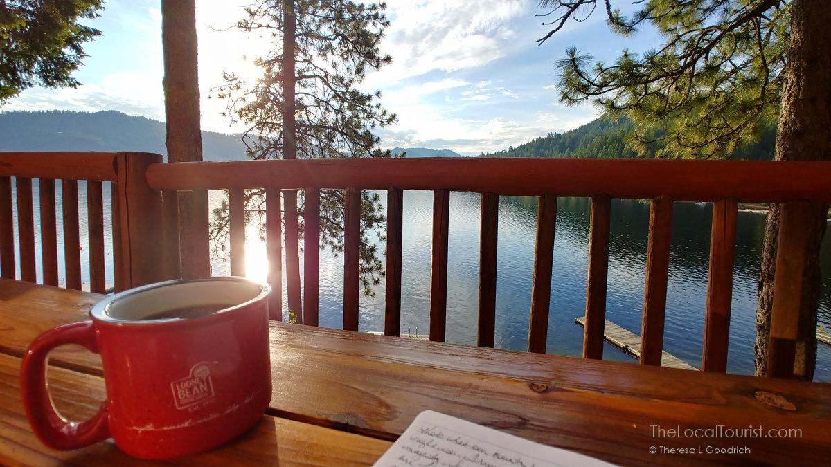 Morning Coffee at Deer Lake