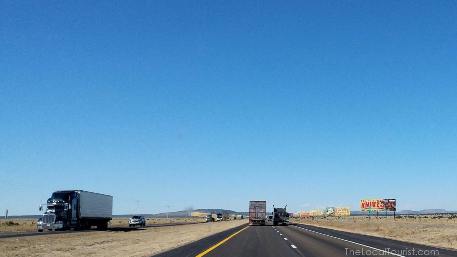 I-40 heading west to Albuquerque