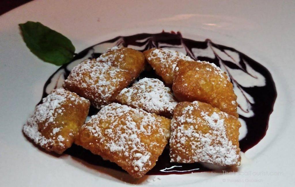 Raspberry beignets at Clinton Street Social Club