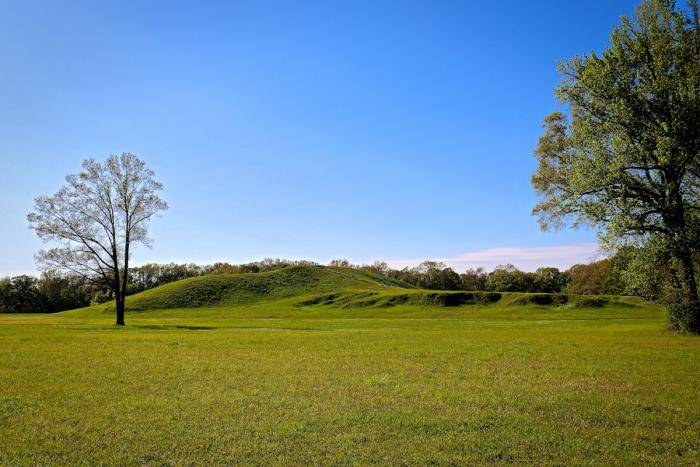 Poverty Point UNESCO World Heritage Site in Louisiana
