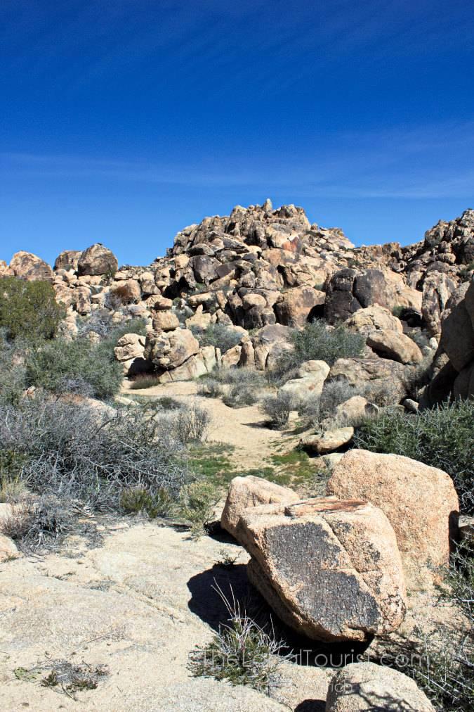 Big rocks at Joshua Tree