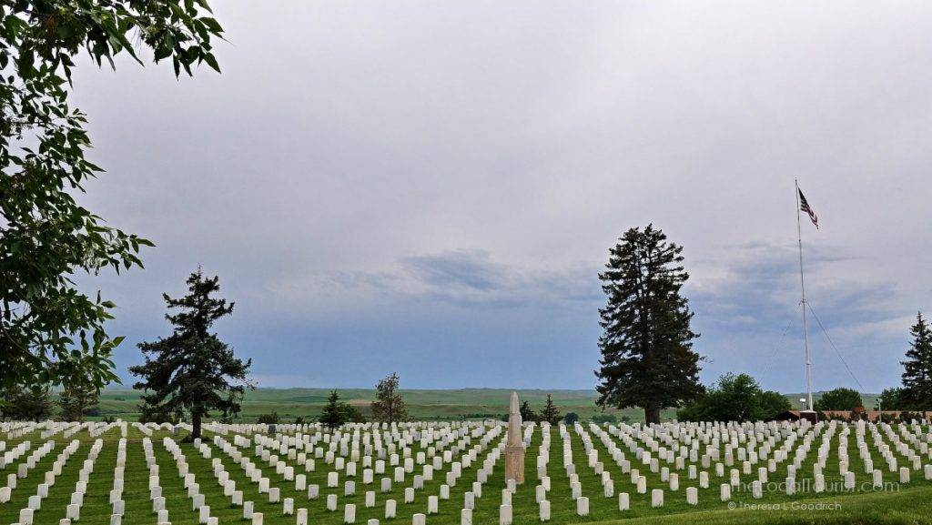 Custer National Cemetery at Little Bighorn Battlefield