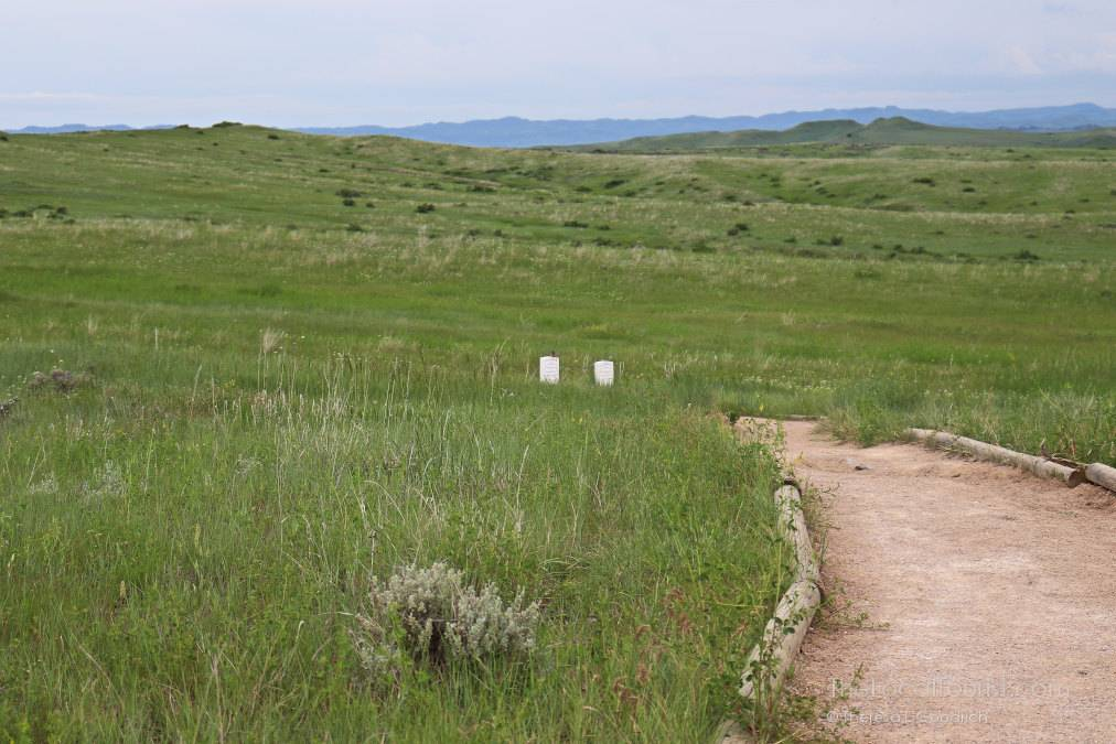 Graveyard at Little Bighorn