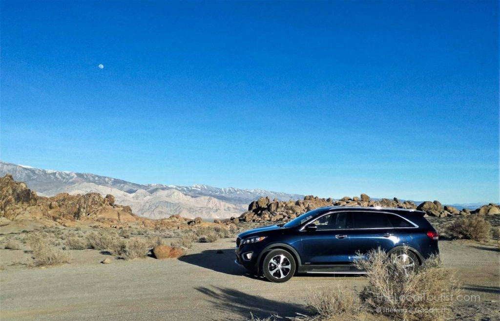 Mae Sorento in the Alabama Hills