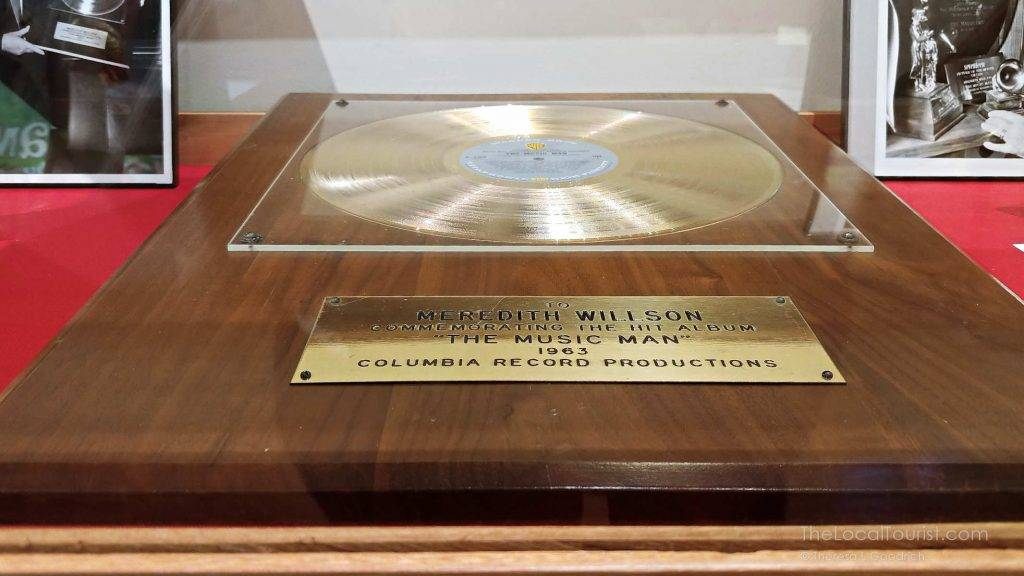 Grammy Award for The Music Man presented to Meredith Willson