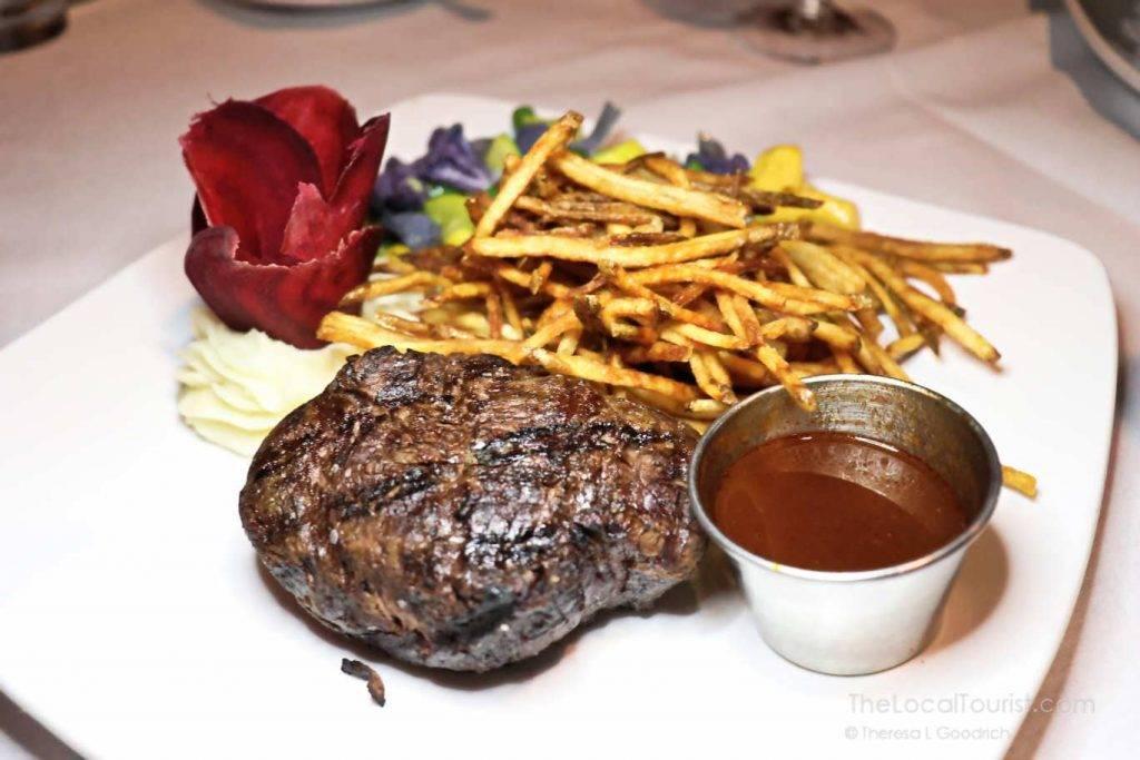 Butt steak at 1776 Restaurant in Crystal Lake