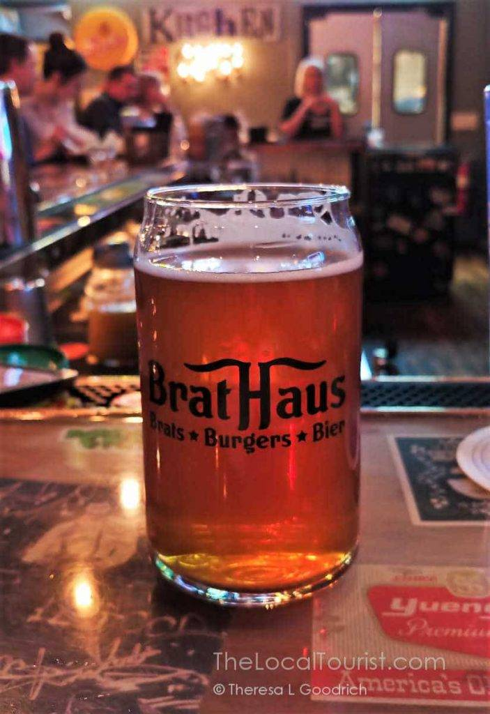 Haus Bier, a collaboration with Scorched Earth Brewing Company