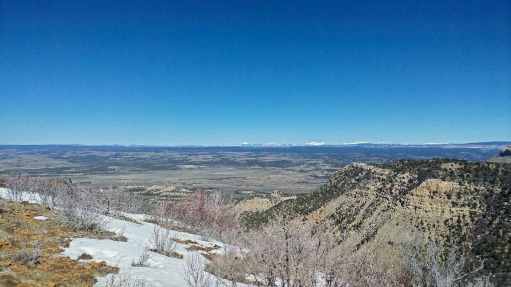 Geologic Overlook at Mesa Verde