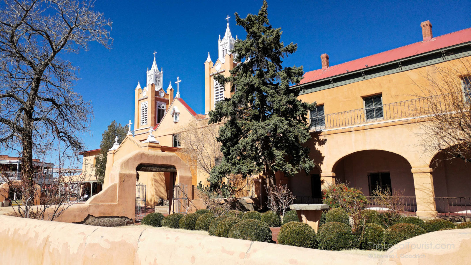 San Felipe de Neri Church in Old Town Albuquerque, New Mexico