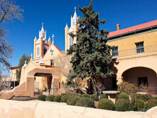 San Felipe de Neri Church in Old Town Albuquerque, New Mexico