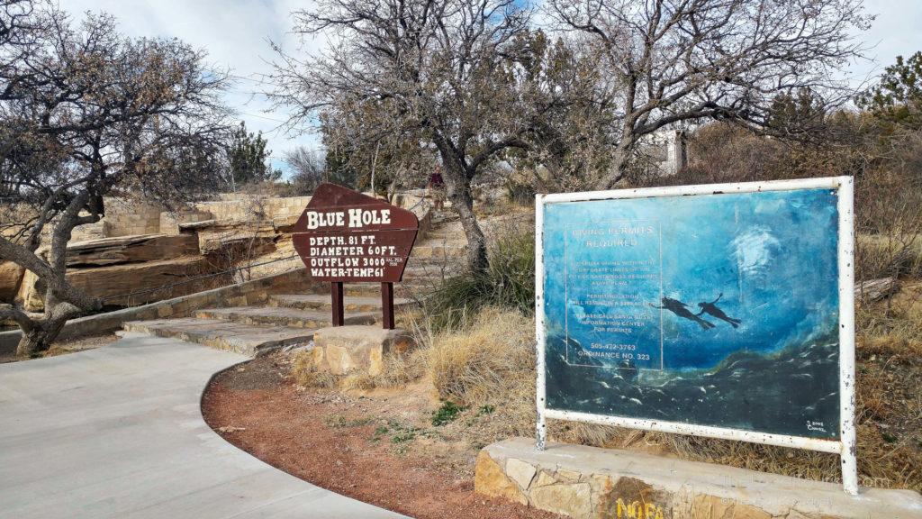 Blue Hole of Santa Rosa