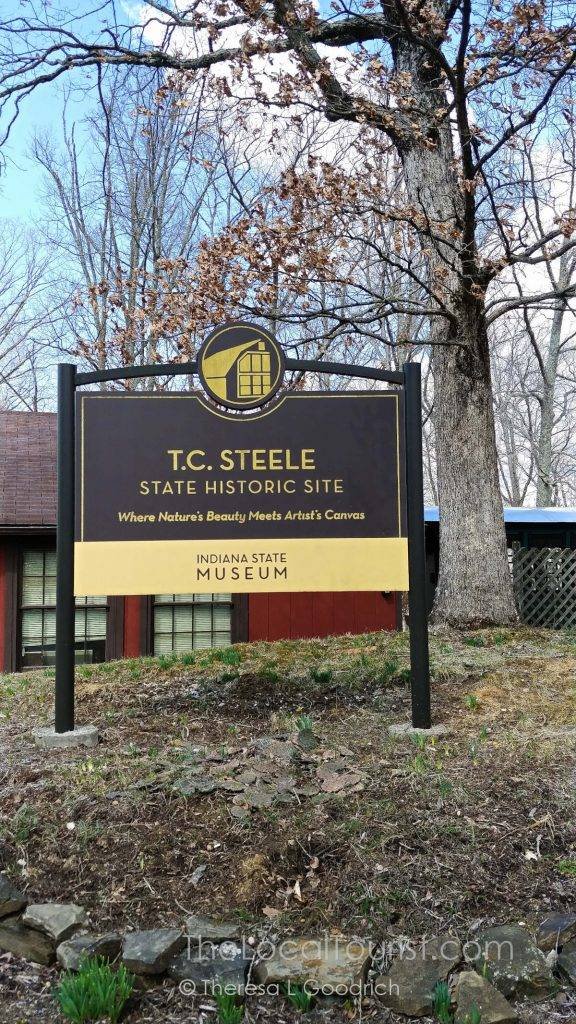 T.C. Steele State Historic Site in Brown County, Indiana