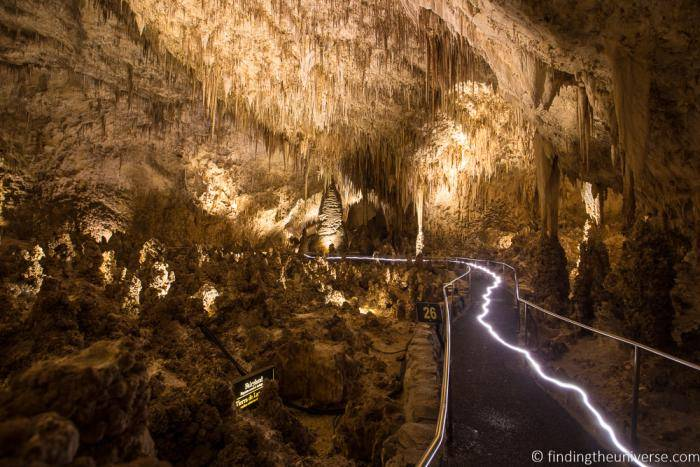 Carlsbad Caverns White City - photo by Laurence Norah, Finding the Universe