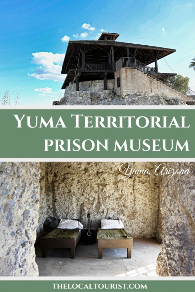 Step inside Yuma Territorial Prison, a museum in Yuma, Arizona