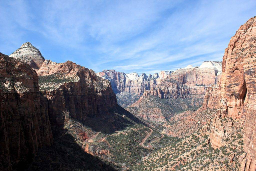 Overlook of Zion Canyon