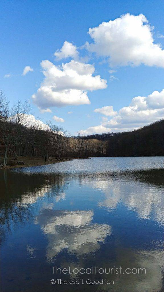 Ogle Lake is One of two man-made lakes at Brown County State Park