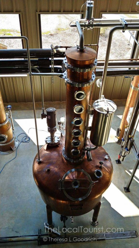Modern-day still used by Hard Truth Distilling