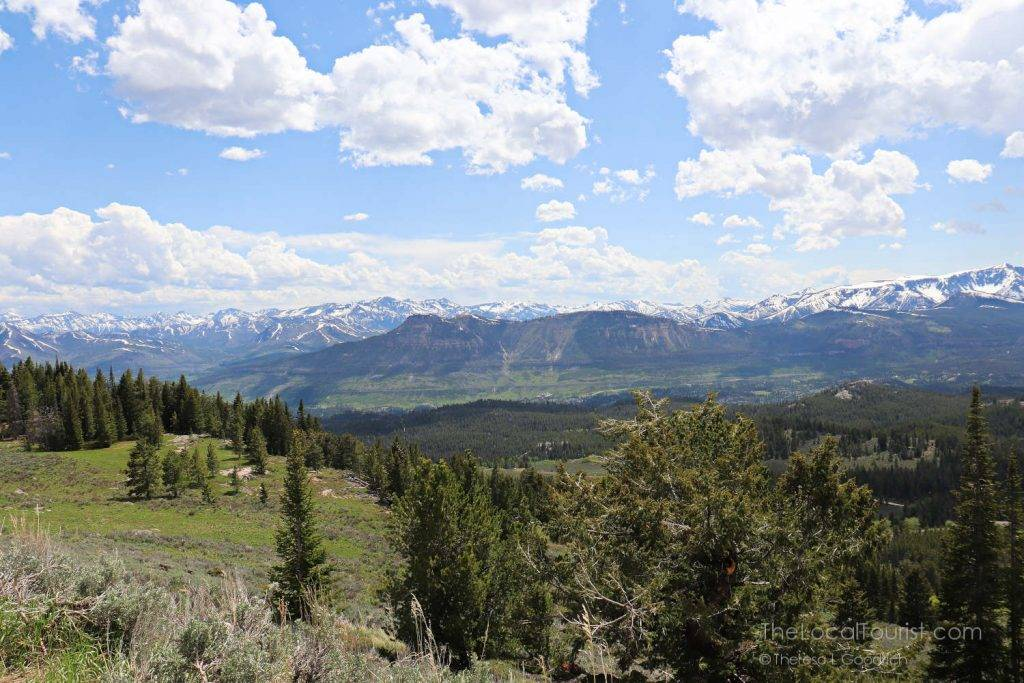 Overlooking the Absaroka Range from Beartooth Highway