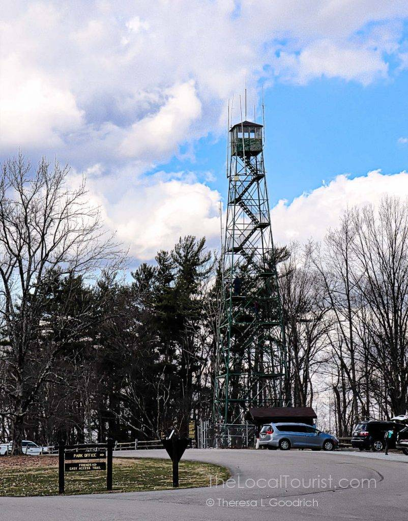 You can climb the 90' Fire Tower at Brown County State Park
