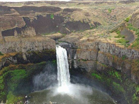 Palouse Falls in eastern Washington