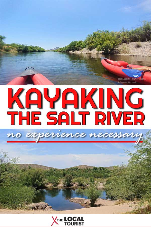 Kayak Salt River in Scottsdale with Arizona Outback Adventures for an experience that'll have you grinning.