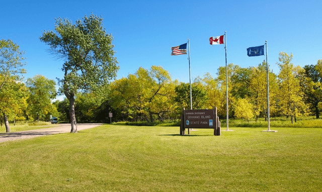 Graham's Island State Park in Devils Lake, ND; photo courtesy North Dakota Tourism